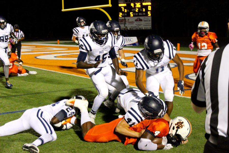 Warriors tear North Paulding Wolfpack to shreds in Homecoming face-off