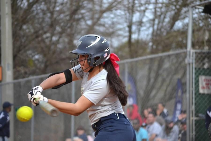 Merced plays softball to relieve stress from her lofty career aspirations.