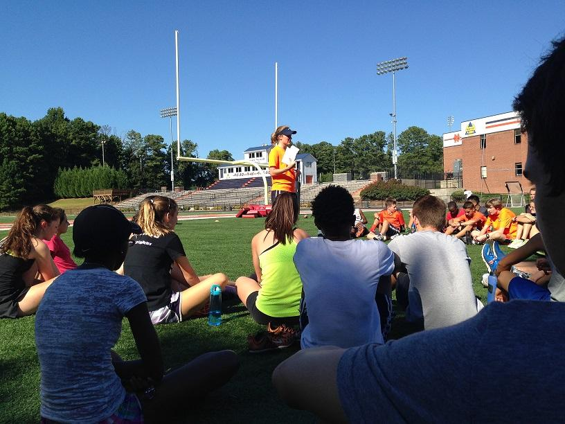 Coach Massey discusses results and goals for future performance.