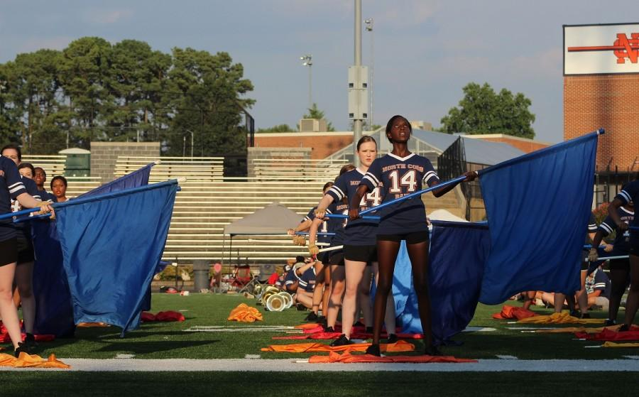 Marching Band Family Day takes practice makes perfect to another level