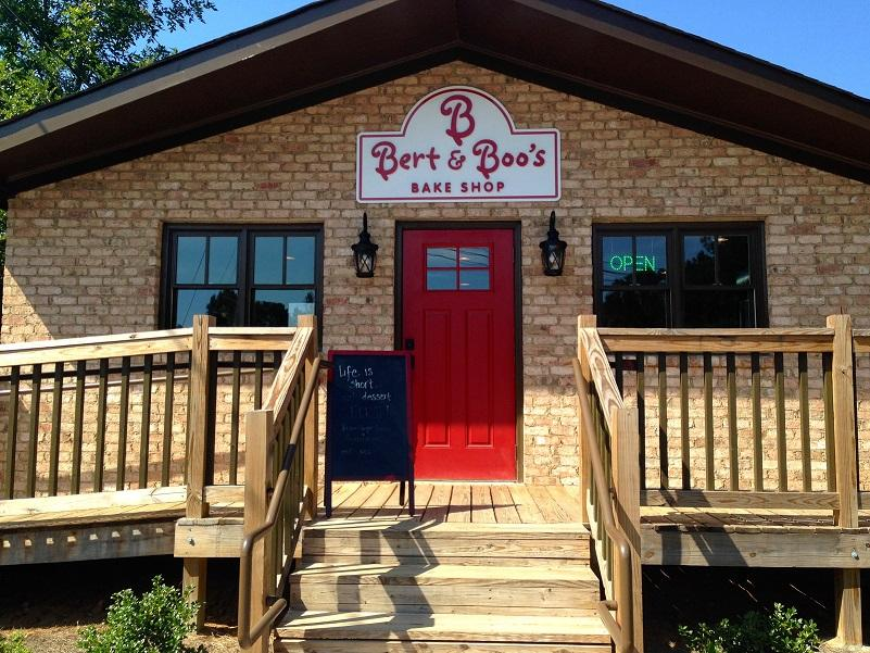 The building that Bert and Boo's operates out of on Old McEver Road opened in early October of last year and has been selling sweets ever since.