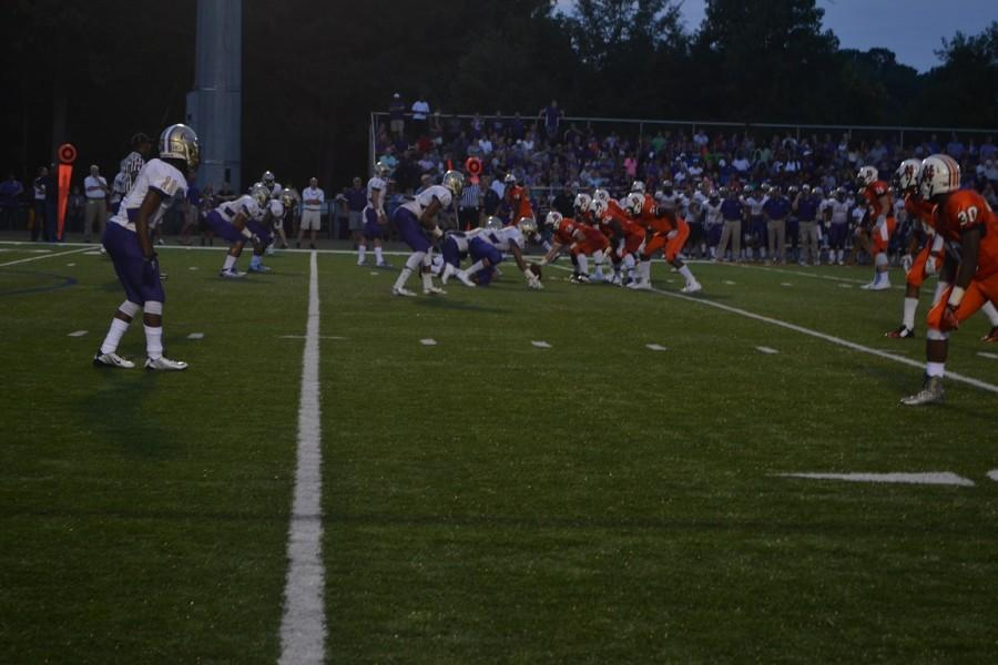 Friday+night%E2%80%99s+football+game+between+Cartersville+and+North+Cobb+had+the+crowd+roaring.+With+only+one+point+separating+the+score%2C+North+Cobb+came+out+on+top+with+the+nail-biting+ending+to+the+intense+game.+%0A
