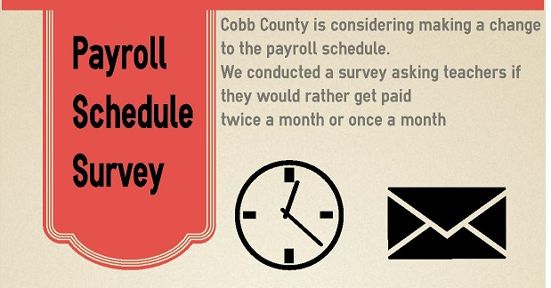 After 19 years, Cobb County considers bi-monthly pay system for employees