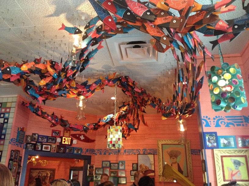 """Even though the new facility consists of eye-catching decorations, some visitors were puzzled about the displays. """"Chuy's was interesting, but it had a confusing atmosphere"""", senior Jack Dimmett dished."""