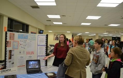 International Studies Magnet Program hosts eighth graders at Open House