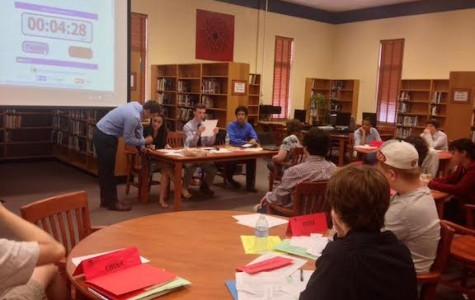 Model UN new delegate conference teaches newbies procedures, public speaking, writing skills