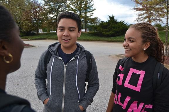 Chris, Princess, Naomi
