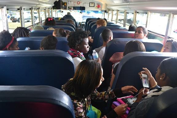 Wide Bus Shot