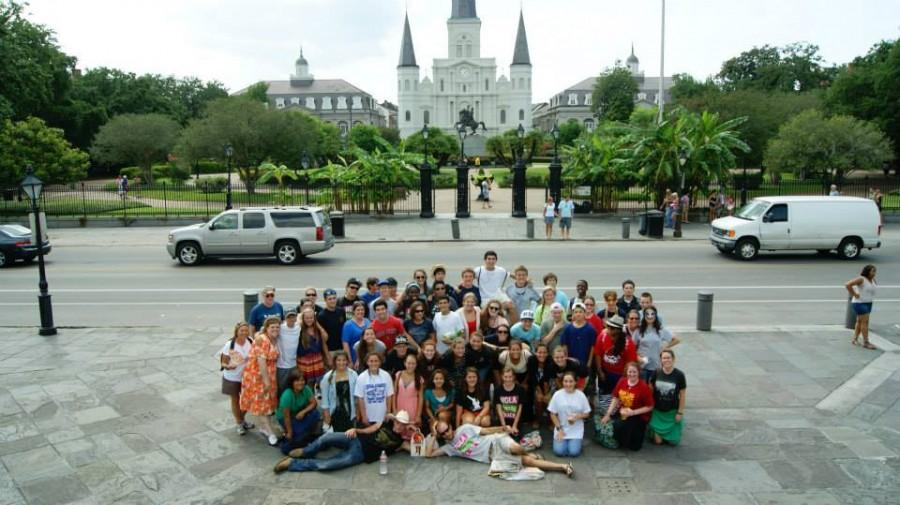 The+summer+of+2013+brought+the+teens+of+St.+Catherine+of+Siena+to+New+Orleans+enjoying+the+presence+of+the+ever+known+St.+Louis+Cathedral+on+the+French+Quarter.