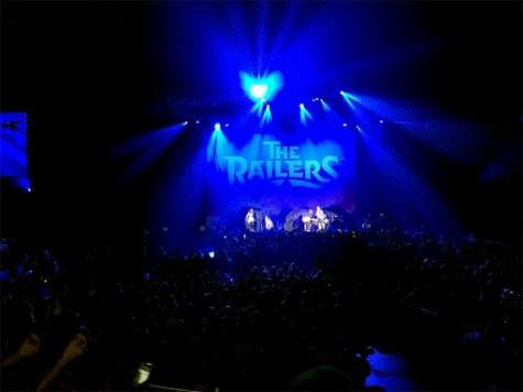"""The Railers open the concert singing songs from their 2014 EP, """"The Railers: The Geraldine Session."""""""