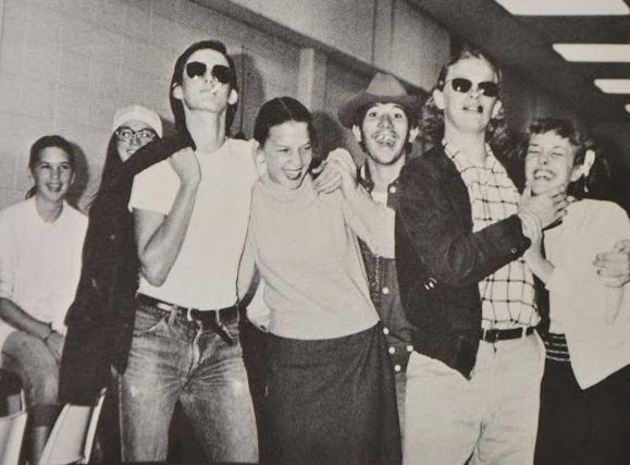 For Throwback Thursday, we're taking you back to North Cobb's Homecoming week from 1974. Shown dress up day: 1950s wear.