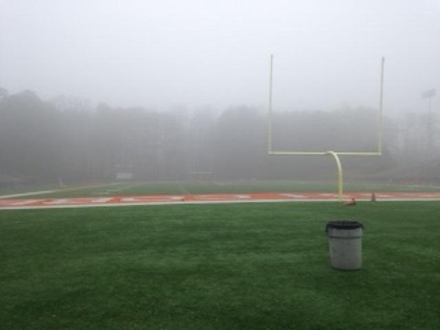 Dark+skies+created+an+eerie+vibe+over+the+football+field.