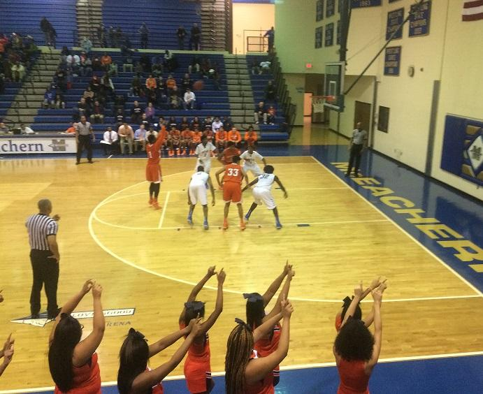 Junior forward Kenny Ume attempts a free throw