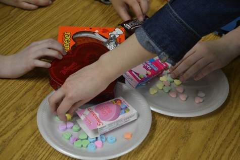 Shortly before Valentine's Day, reporter Anabel Prince tested a variety of Valentine's Day themed candy including Hershey's Marshmallow Heart, Hershey's Kiss Deluxe, Reese's Heart, SweetTart Hearts, Sweethearts and Whitman's Chocolate Sampler.