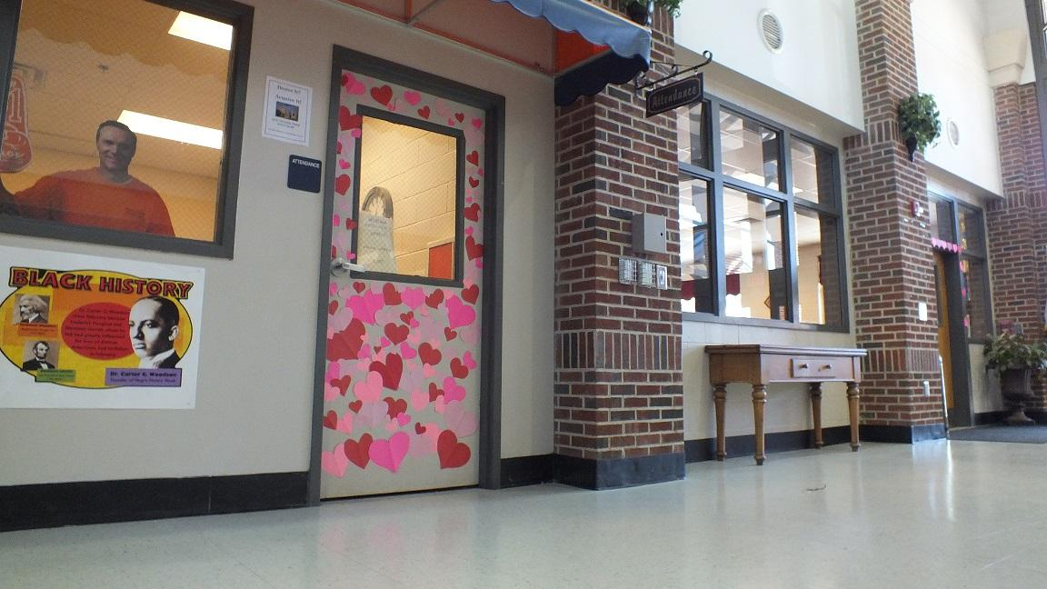 "The Attendance office's door stole our hearts. ""Unfortunately, there are no prizes,"" said Ms. Woolsey."