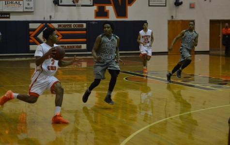 Varsity boys basketball pummels Harrison, Kennesaw Mtn.