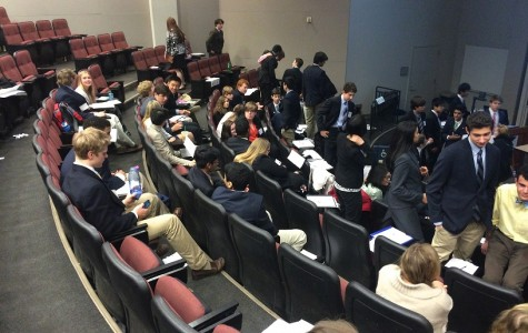 Elite Model United Nations members excel at UGA spring conference