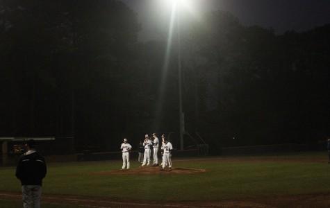 Varsity baseball wins over Cherokee County on March 3