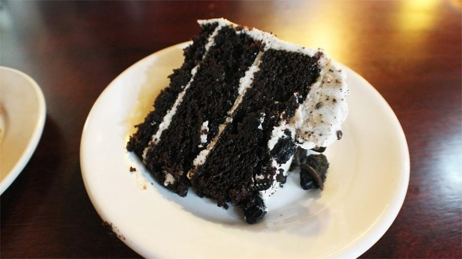 Gabriel's food and desserts have been recognized many times in Atlanta Magazine's Best of Atlanta, including the famous decadent chocolate cake.