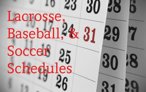 Mark your calendars: Lacrosse, baseball, and soccer schedules