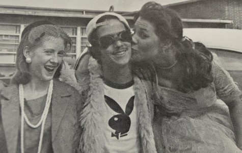 Even back in 1976, North Cobb students dress up for the school's '50s day.
