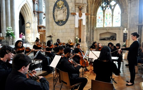 London Calling: Orchestra students perform in England's premier halls