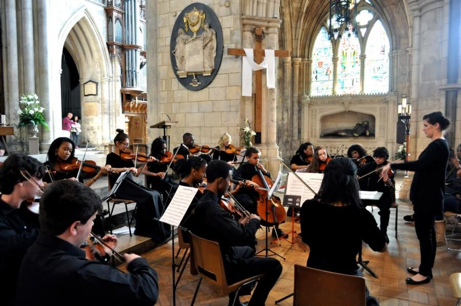 Southwark Cathedral performance London