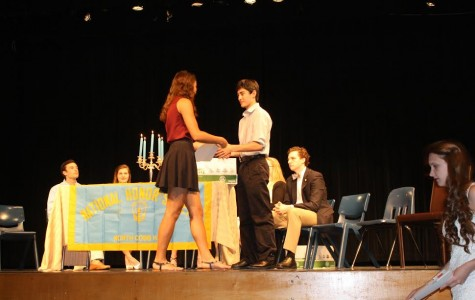 National Honors Society juniors invited, inducted, and elected