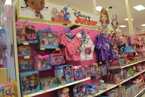 Optimistically, Disney Junior show Doc McStuffins stars a young black girl, bringing diversity into children's television and therefore children's toys. The show also encourages children, especially little girls, to aspire a career as a doctor; actually selling products that reflect that aim.