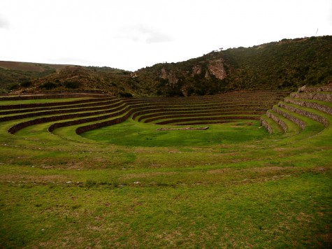 """On the seventh day, the NC group visited Moray, an archeological site known for its unique agricultural model. """"We were told that it was a very experimental use, with each tier of the valley being used for different crops, taking into account the different altitudes and climates,"""" said sophomore Andrew Gasparini. """"It was such a cool things to learn about and to see with our own eyes."""""""