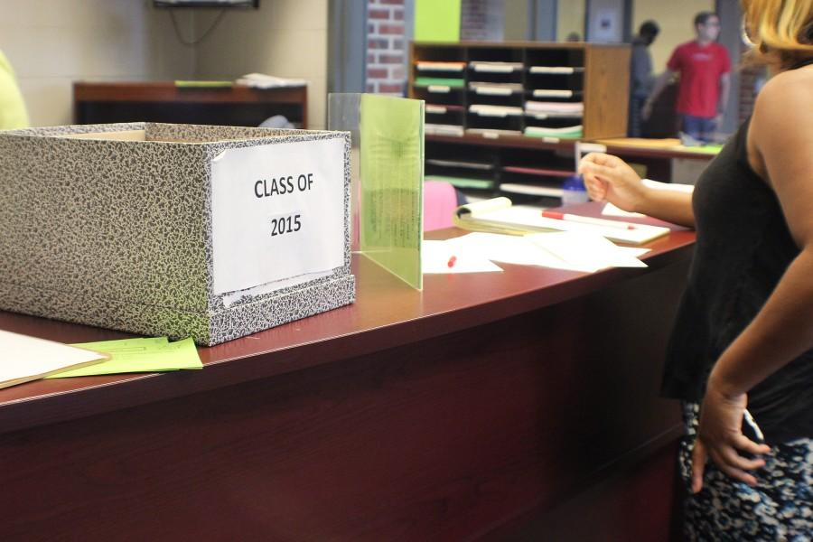 With only eight days left of school, seniors and their parents put in requests to send their final transcripts to the college of their choice.
