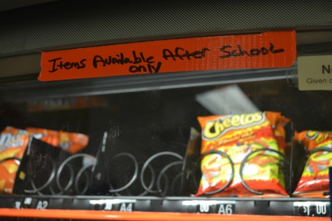 """With a new year comes new changes. Slabs of orange tape are plastered over every vending machine stating, """"Items only available after school."""" Though several students are completely oblivious to the change, the few students that were interviewed gave reporters an earful."""