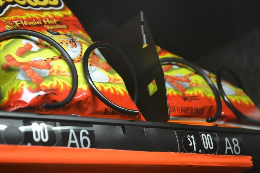 One of North Cobb's most popular snacks, Hot Cheetos, have been temporarily restricted. As of today, all snacks considered unhealthy will not be sold during school hours.