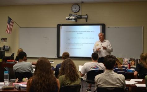 Mr. Scamihorn visits AP Gov/Econ