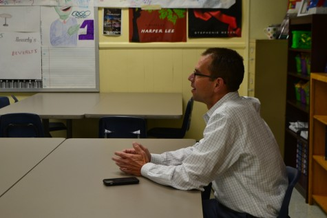 City Manager Jeff Drobney visits the Chant headquarters to discuss what he likes about the City of Kennesaw in an interview with the Chant's Feature Editor and Photo Editor.
