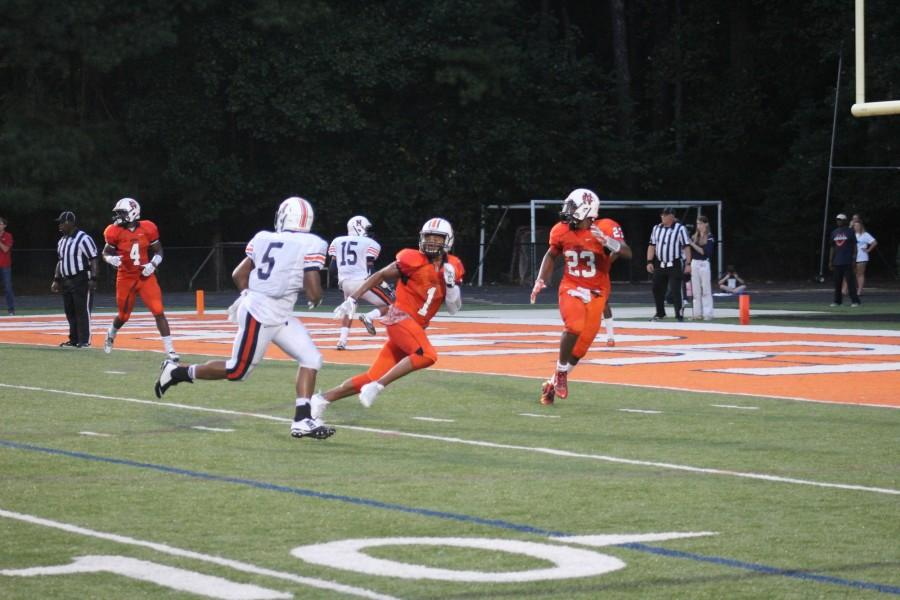 NC defense prevents a Northside touchdown in the fourth down.
