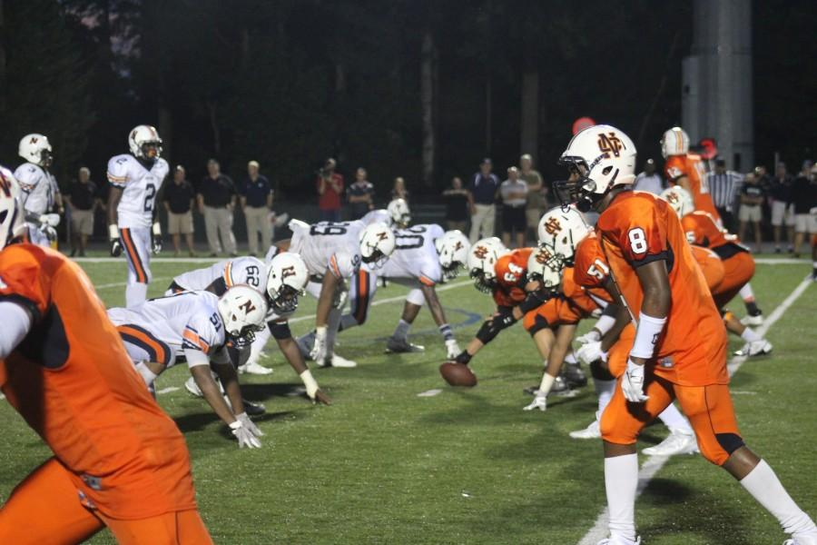 North Cobb played Northside Warner Robins at their first Friday night game.