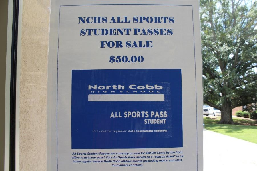 Athletic passes were brought back to NC after a seven year hiatus due to popular demand.