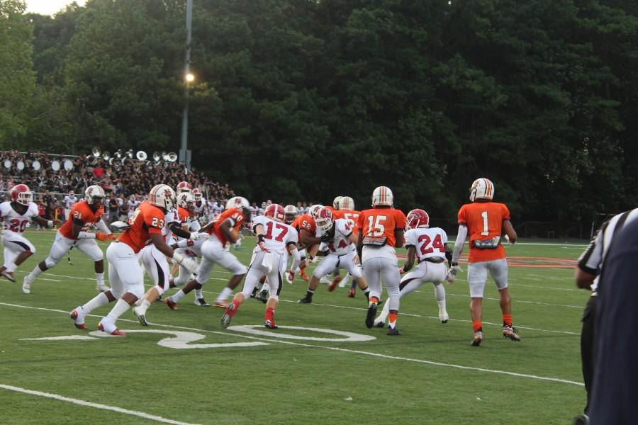 North Cobb's offense does everything they can in order to protect the ball.