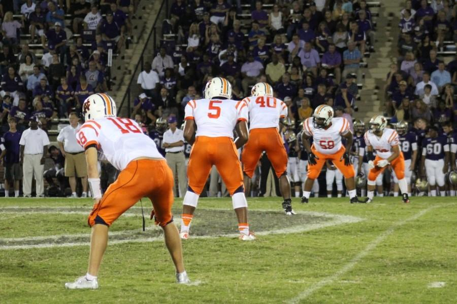 Despite holding the lead going into the fourth quarter, the Warriors lost to Cartersville 34-31.