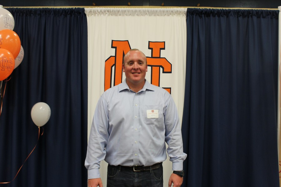 Last Friday night, Coach Davis was inducted into the NC Hall of Fame for outstanding achievements in baseball.