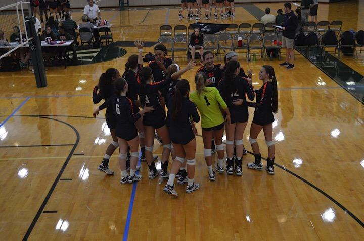 Lady Warriors volleyball defeated Blessed Trinity for the first time in school history, a highlight of the 2015 season.