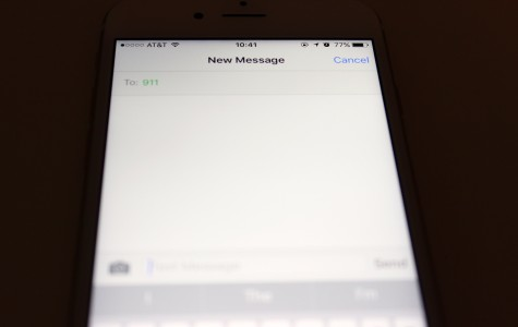 A Cobb County wireless customer contacts 9-1-1 through text messages. The technology improvement towards text messaging was unveiled last week.