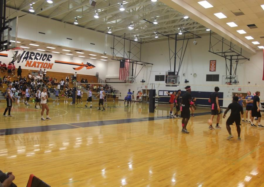 On Monday night, North Cobb hosted their first ever men's volleyball tournament as a part of homecoming. The turnout was surprisingly high, as most didn't think a first year event would get that much attention. Fans came out to cheer on their favorite team.