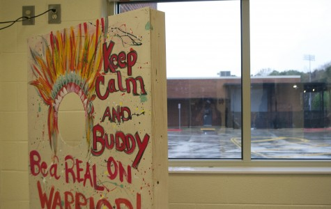 """Red Ribbon Week at NC has adopted a new tradition, using social media to promote prevention of alcohol, bullying, drugs, and texting while driving. """"This is a fun way to earn prizes as well as making their friends and families aware of the issues"""" said junior Eunice Ngata. Be on the lookout for them in the cafeteria during the week."""