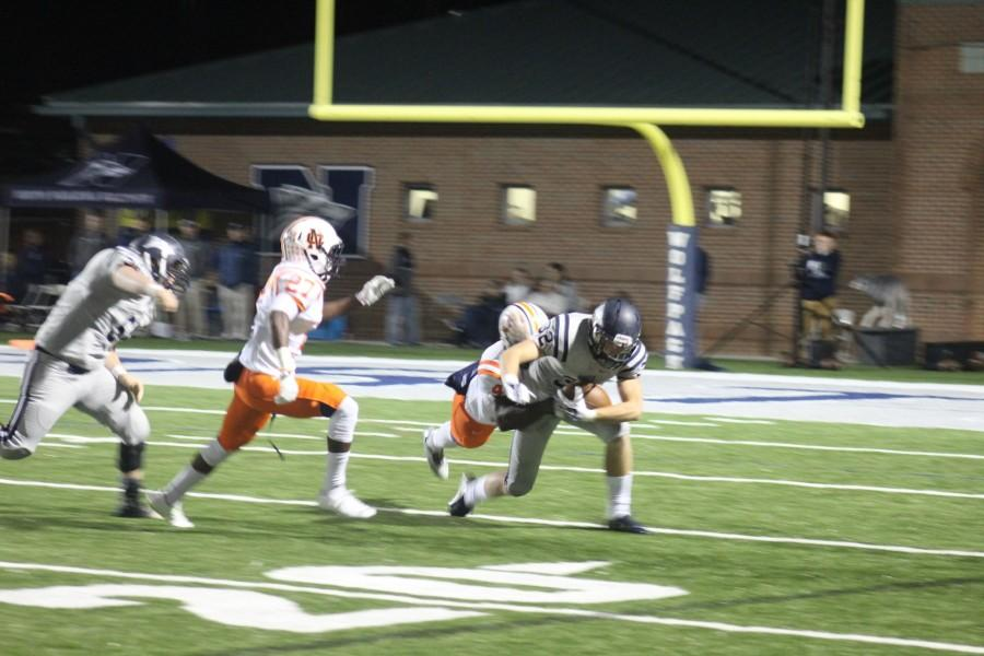 NC lost an important region game on Friday, October 30 due to a missed field goal ending the game.