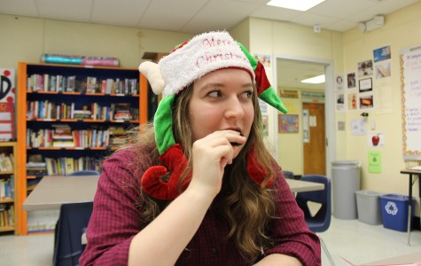 As she tastes the Trader Joe's Candy Cane Joe-Joe's, Anabel reacts with disgust.