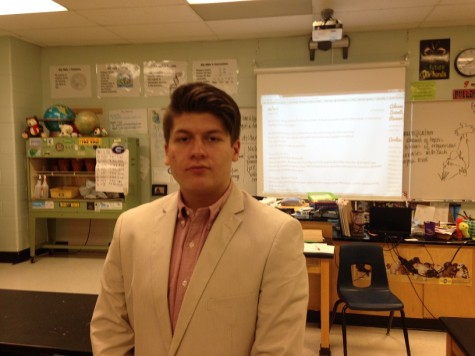 Senior Zac Mullinax finds the ability to vote and make change inspiring. He follows politics religiously.