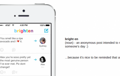Brighten might soon overshadow other popular apps on social media with its sunny demeanor and well wishes for users.