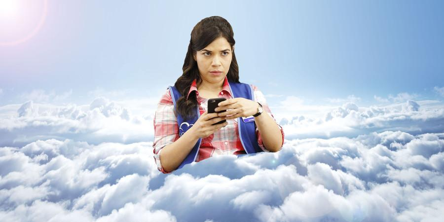 America Ferrera stars as Amy, an uptight associate at the fictional Cloud 9. She serves as a mom figure who helps the manager and other workers with their problems, both in the workplace and out.